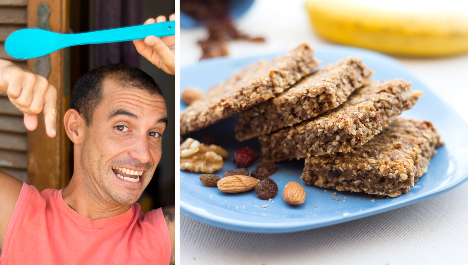 Apple-Banana Energy Bars